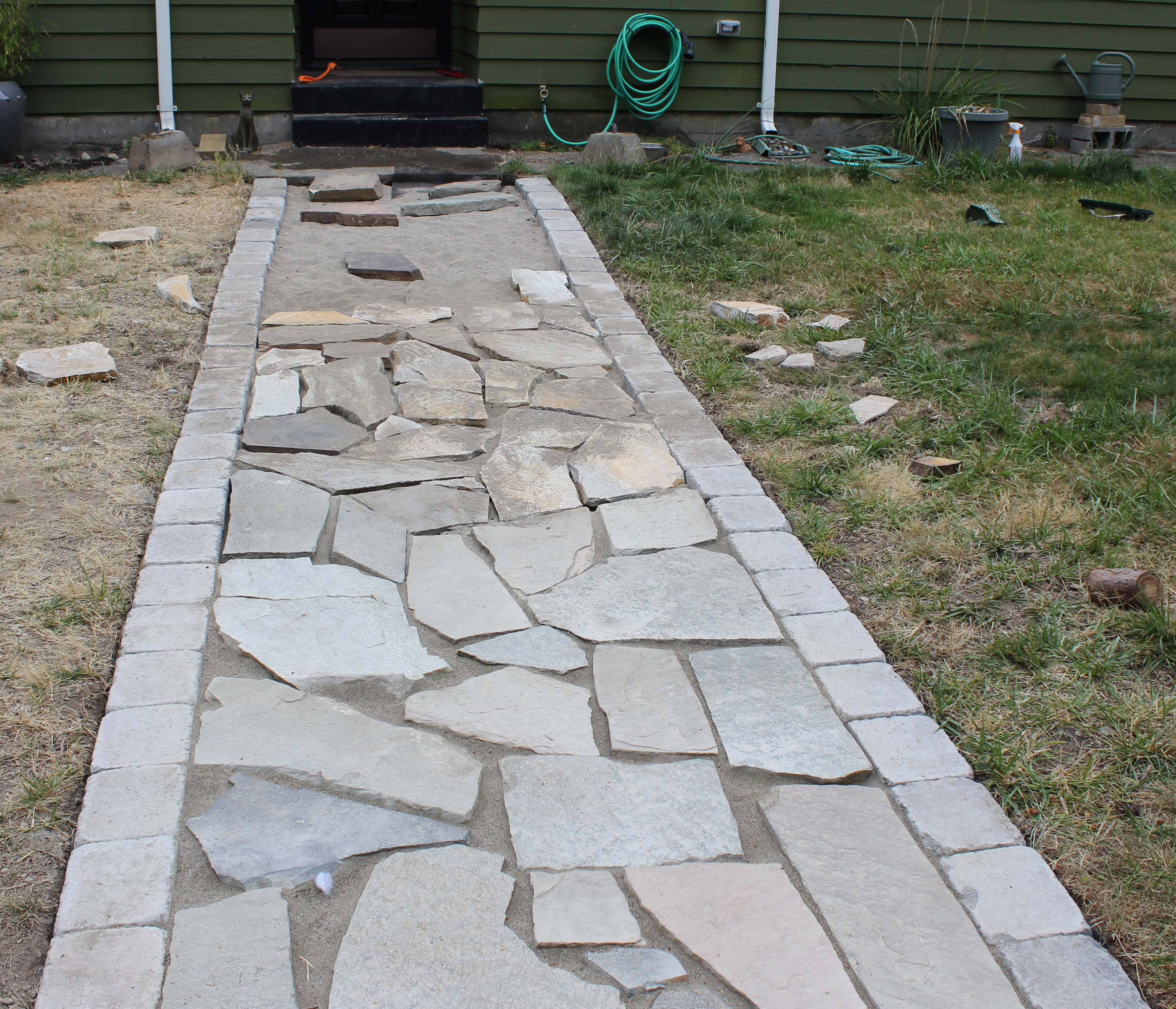 {Better Remade} flagstone walkway – Better Remade