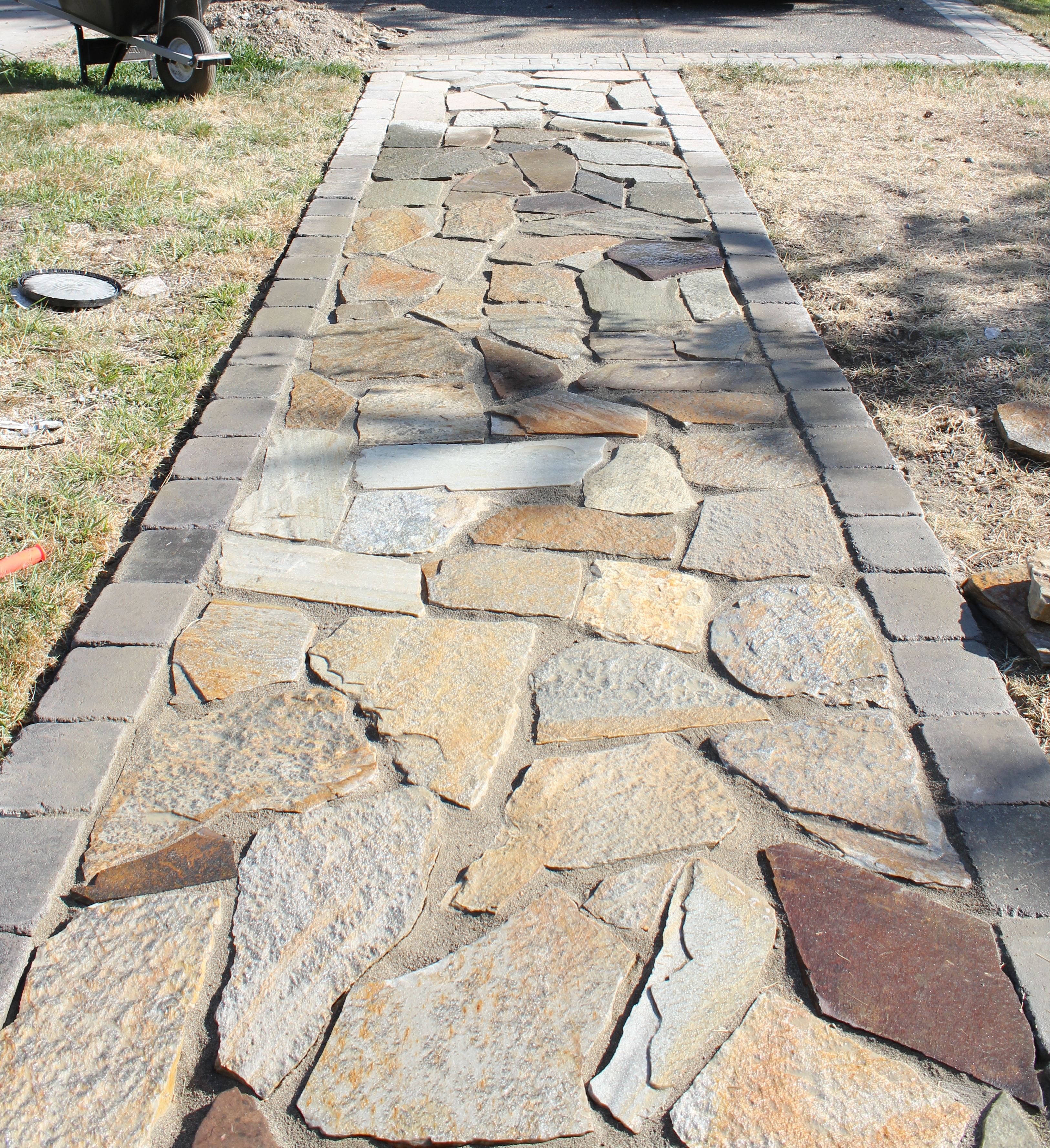 better remade flagstone walkway better remade