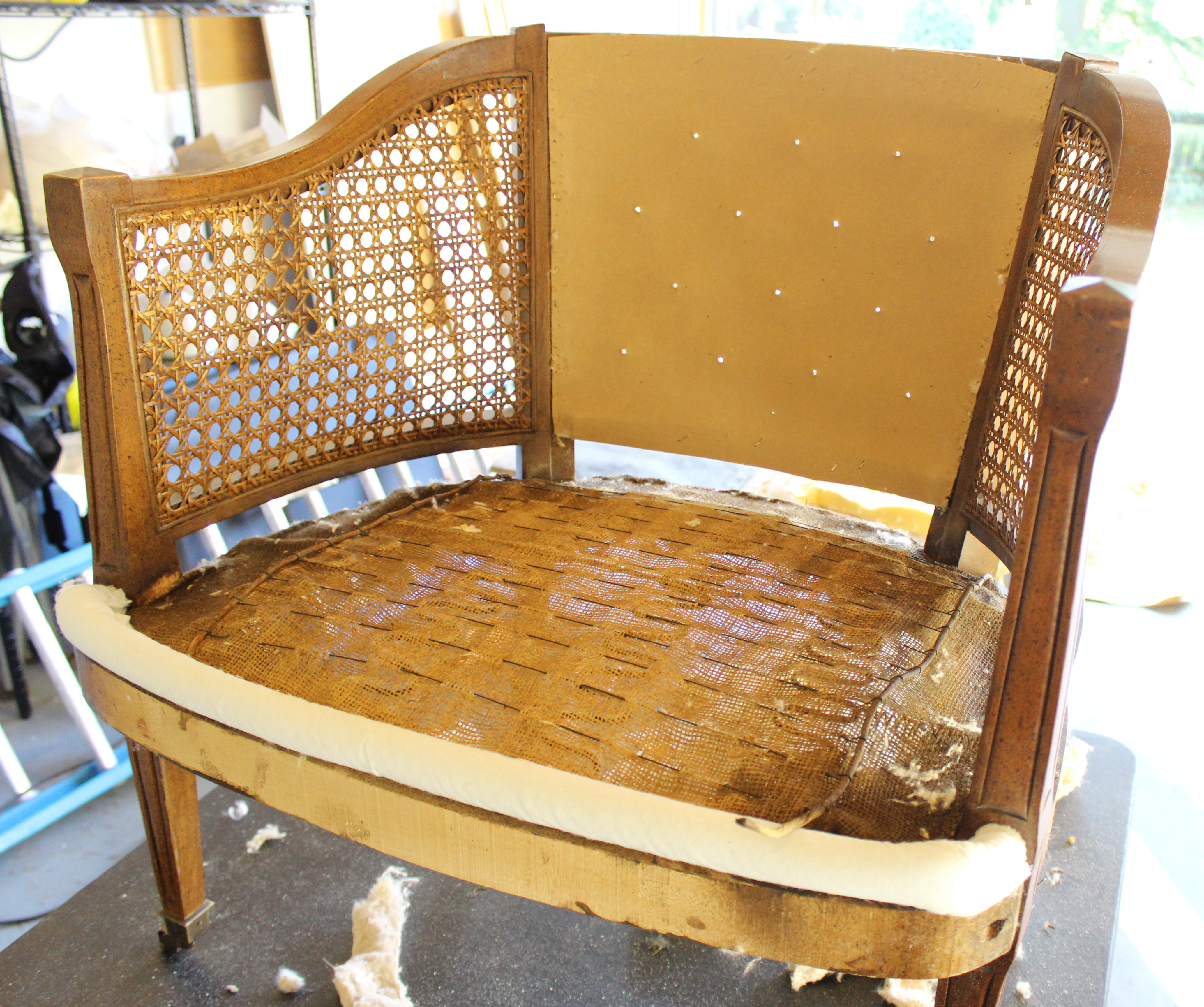 Let s Strip – Part 1 Emily s Garden Club Chairs – Better Remade