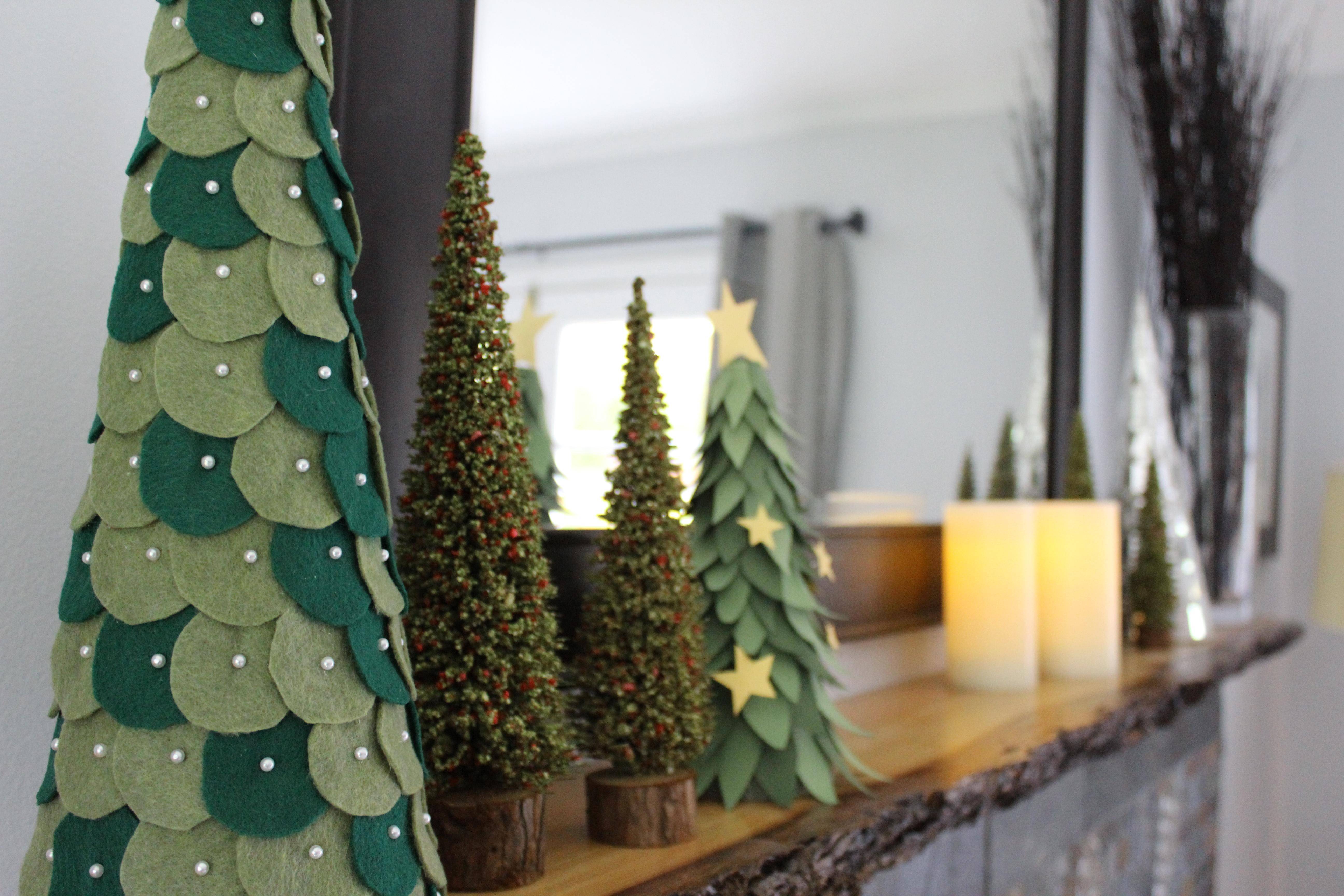 DIY: Felt Christmas Trees - Better Remade