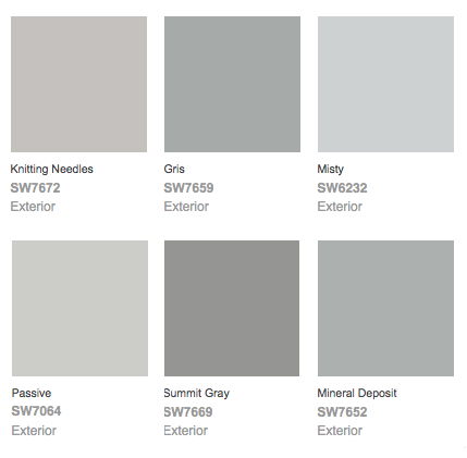 Colors Of Gray Impressive Of SherwinWilliams Gray Paint Colors Photo