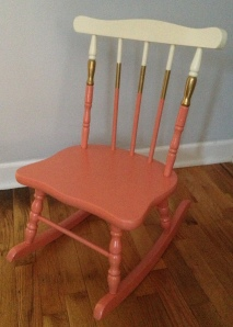 Better Remade I Block painted rocking chair