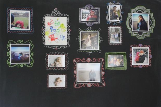 IMG_5010de | chalkboard gallery wall