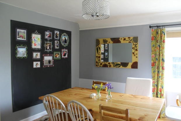 Better Remade | chalkboard gallery wall