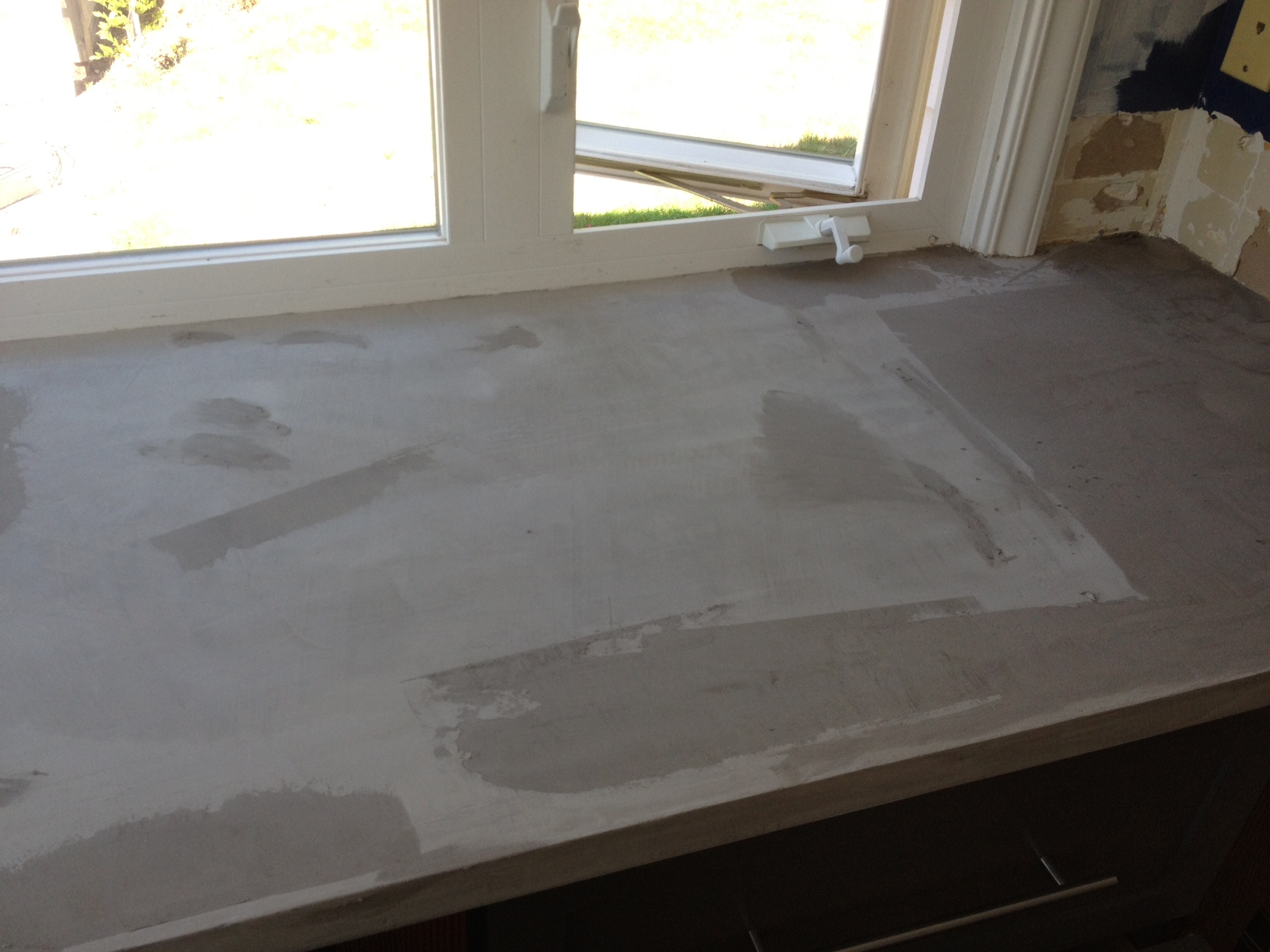 Kitchen Diy Concrete Countertop Better Remade