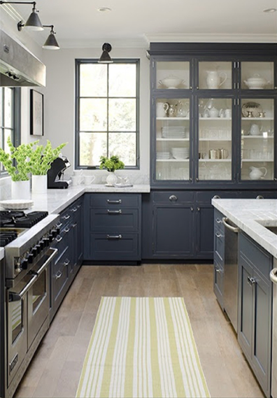 Kitchen  Kendall Charcoal Cabinets Quicua com