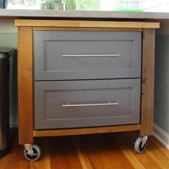 Better Remade I Kitchen Cart