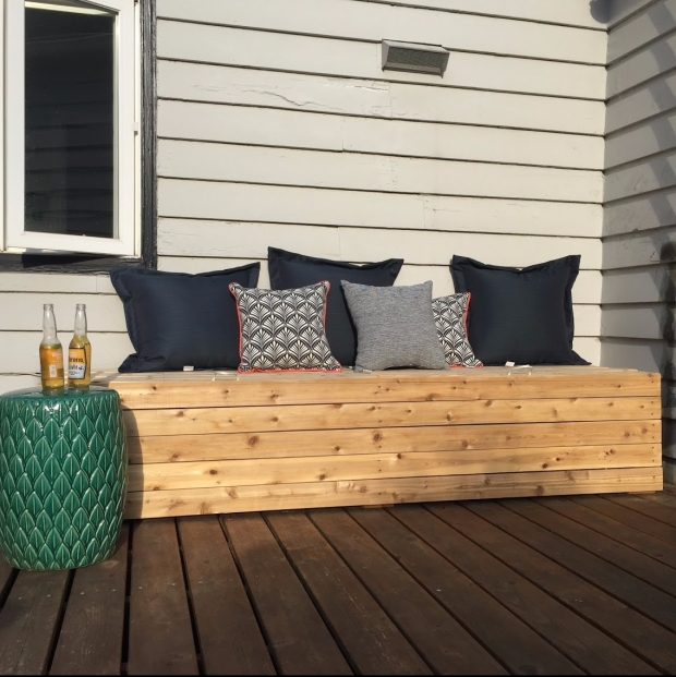 Astonishing Diy Outdoor Storage Bench Better Remade Theyellowbook Wood Chair Design Ideas Theyellowbookinfo